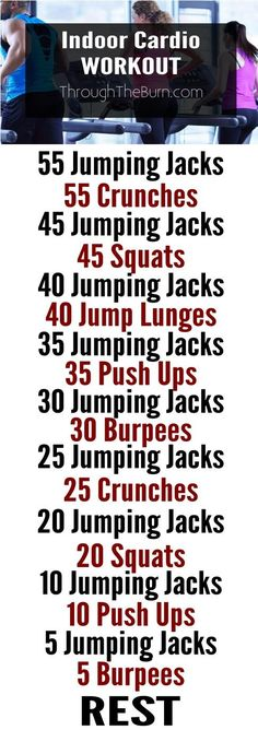 Killer Indoor Cardio Workout