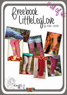Tolles Freebook für Leggings von nEmadA: LittleLegLove / Gr.74-140 #sewing #sewingforkids