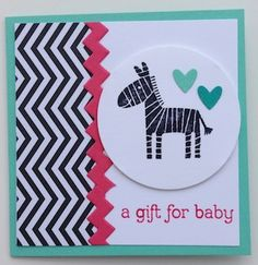 this will remind me to use that Club Scrap black & white print from Salsa for baby cards
