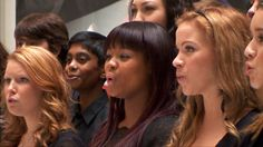 The glee choir of Toronto-based Wexford Collegiate School for the Arts is heard on I.S.S. (Is Somebody Singing), the song collaboration between astronaut Chris Hadfield and Barenaked Ladies.