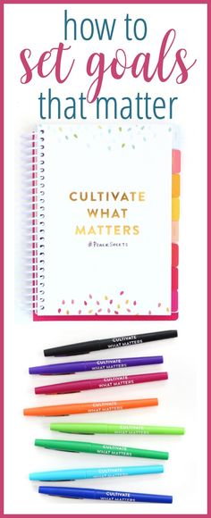 Tired of setting goals that only last a few weeks? Learn how to set goals that matter, using PowerSheets - goal setting worksheets that take a realistic approach to goal setting. Check out this full review & grab a discount code for your PowerSheets! via @intentionalmoms