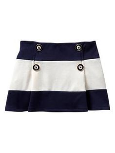Striped ponte skirt | baby Gap