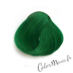 "Colortaion Cheveux Vert Pomme ""Apple Green"" Directions 