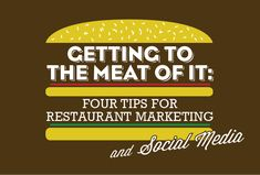Four Tips for Restaurant Marketing and Social Media