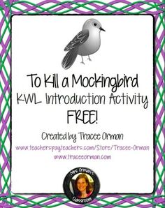 To Kill A Mockingbird Newspaper Project | Teaching schools ...