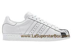 Adidas Originals Chaussures HommeFemme Superstar 80s Metal