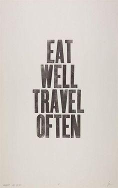 eat, travel