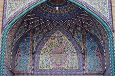 Iranian arabesques in #Isfahan