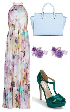 """Untitled #19335"" by edasn12 ❤ liked on Polyvore featuring мода, Ted Baker, MICHAEL Michael Kors и David Tutera"