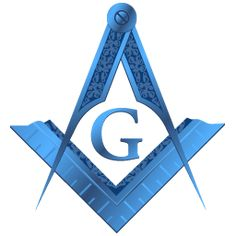Freemason Square and Compass clipart
