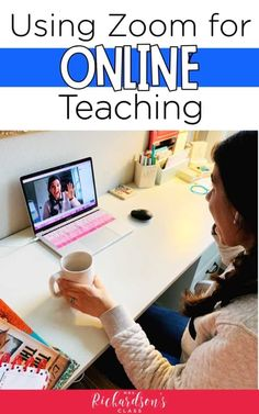 The only Zoom tutorial you'll need to teach online is in this post! You'll be able to connect, teach, and communicate with your students through distance learning with Zoom! Fractions, Multiplication, French Language Learning, Teaching English, German Language, Japanese Language, Teaching Spanish, Spanish Language, Phonics Lessons