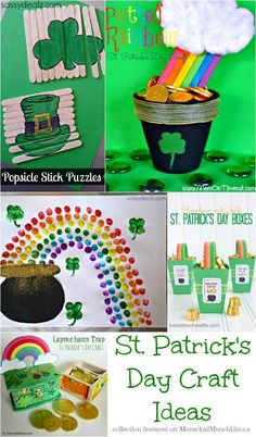 St. Patrick's Day Crafts (For #Kids) - Moms & Munchkins