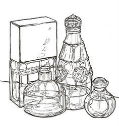 Stephanie Casino Illustration - Perfume - Fashion illustration