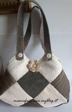 cucito,creativo,borsa,patchwork