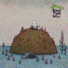 "Marq Spusta Illustration for ""Several Shades of Why"" JMascis Album Cover"
