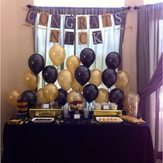 """Love decorating with balloons...they are a great """"filler"""" decoration to keep your decor budget in check and make a definite impact on cheeriness."""