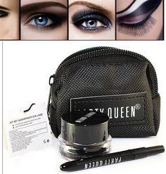 Barato 1 conjunto ( PartyQueen ) delineador preto Gel delineador maquiagem Gel delineador cosméticos + escova + bolsa, Compro Qualidade delineador diretamente de fornecedores da China:                                 Nota:                                                               Bem-vindo ao a