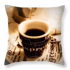 http://fineartamerica.com/products/espresso-anyone-marylee-parker-throw-pillow.html# espresso#Anyone