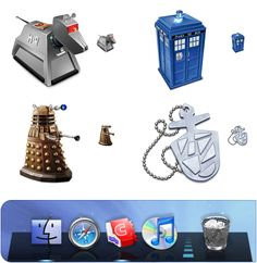866fd86e3b1cd Doctor Who icons free for your desktop! At Iconfactory
