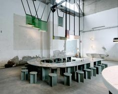 Caffè Populaire, the pop-up bistro of the moment at Milan Design Week - FAIRP Milan Furniture, Patio Furniture Sets, Cool Furniture, Furniture Design, Furniture Ideas, Luxury Furniture, Garden Furniture, Office Furniture, Furniture Buyers