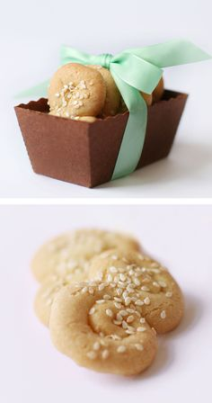 Semolina Sesame Cookies, Macrina Bakery