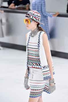 Chanel Airlines Show Spring 2016 | POPSUGAR Fashion