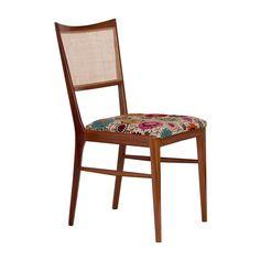 Cadeira Vladimir Kagan em madeira,cumarú com a cor natural, com um ótimo conforto para você receber amigos e parentes em sua casa!   DIMENSÕES ALTURA 89CM LARGURA 41CM PROFUNDIDADE 43CM