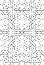 Resultado de imagen para alhambra designs coloring pages