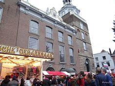 Goes Winterstad, drukte op de markt