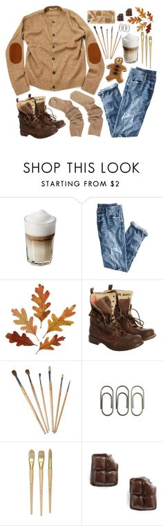 """Gingerbread"" by goycotwo ❤ liked on Polyvore featuring J.Crew, Superdry, Clips, Venessa Arizaga, Casetify, Fall, Boots, Sweater, gingerbread and weather"
