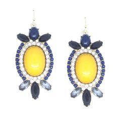 Yellow Bibi Earrings – Suecan Bijoux