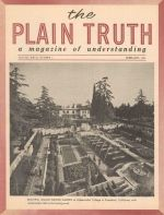 WEATHER in CHAOS - What does it mean? Plain Truth Magazine February 1962 Volume: Vol XXVII, No.2 Issue: