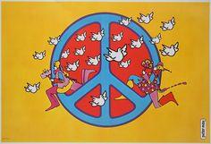 Music Post: Art.. Peter Max (Pop Art)