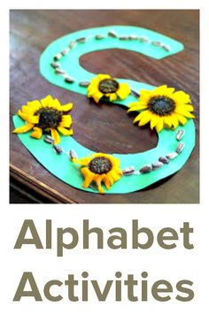 Alphabet activities for children learning to read