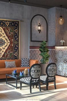 The Restaurant Interior Reflects A Unique Blend Of Afghani & Awadhi Sensibilities With A Contemporary Essence | Komal Sachdev + INC-The Design Studio - The Architects Diary