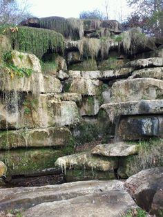 Waterless Waterfall