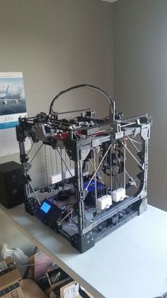 Picture of How to Create a Large 3D Printer using a Smaller 3D Printer -