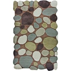 Unusual eye-catching rugs will help bring your room to life.