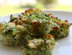 Miniature Muffin Pan Broccoli & Cheddar Nuggets 2