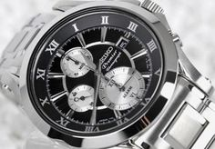 Seiko Premier Chronograph Men's Watch SNAD27P1 - In Stock, Free Next Day Delivery, Our Price: £319.99, Buy Online Now
