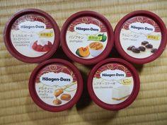 haagen-dazs. Japan