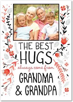 Heartwarming Hugs | Grandparents Day Cards from Treat.com