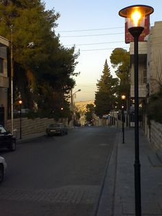 Rainbow street in Amman - Jo