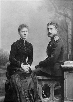 """SL - «Grand Duke Constantine with his wife in 1884."""" On Yandex"""