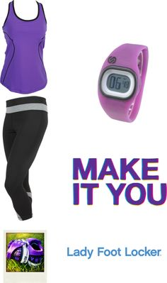 """Make It You: Sporty"" by cynnastylz on Polyvore"