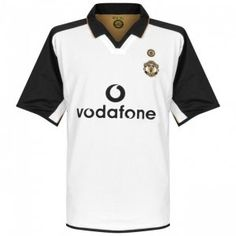 2002 Cheap Retro Jersey Manchester United White Shirt [AFC199]