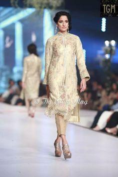 Faraz manan dress in bridal cotoure  week