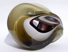 Samantha Donaldson's molten glass will be at Lustre this year