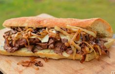 Portuguese Garlic Steak Sandwich
