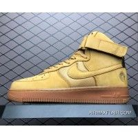 best website 837e6 e95aa Bobbito Garcia X Nike Air Force One High Sanded Gold Sanded Gold-Wheat  318431-771 Best